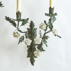 7-6596-Sconces_tole_flower-1