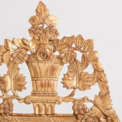 7-7557-Mirror_Louis XVI_gilt_-1
