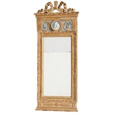 Swedish Antiques Gustavian bow mirror