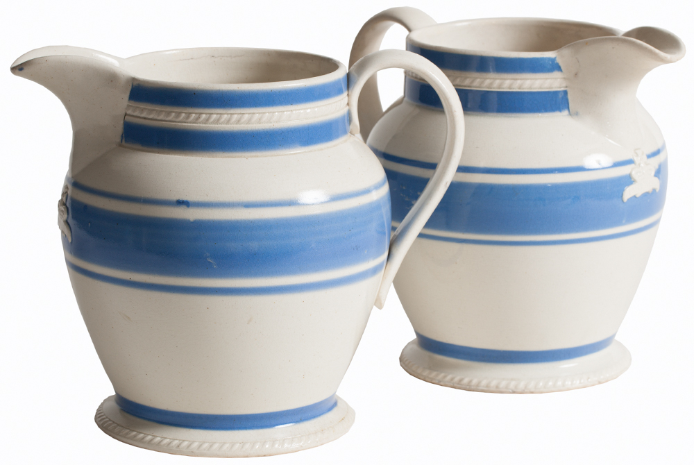 Blue Pub Pitchers Dawn Hill Swedish Antiques