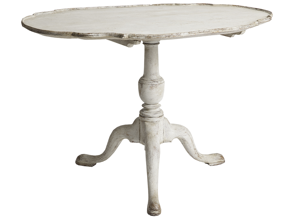 Dawn Hill Swedish Antiques Sweden Flip top Table