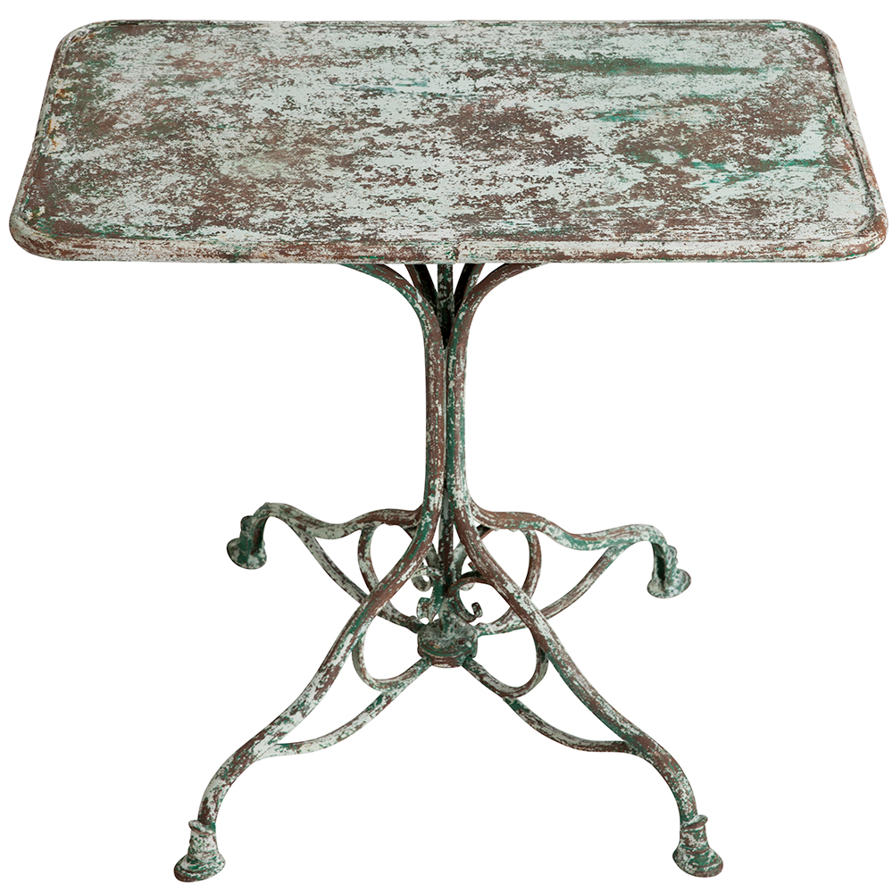 French antique Iron Arras table Dawn Hill Swedish Antiques