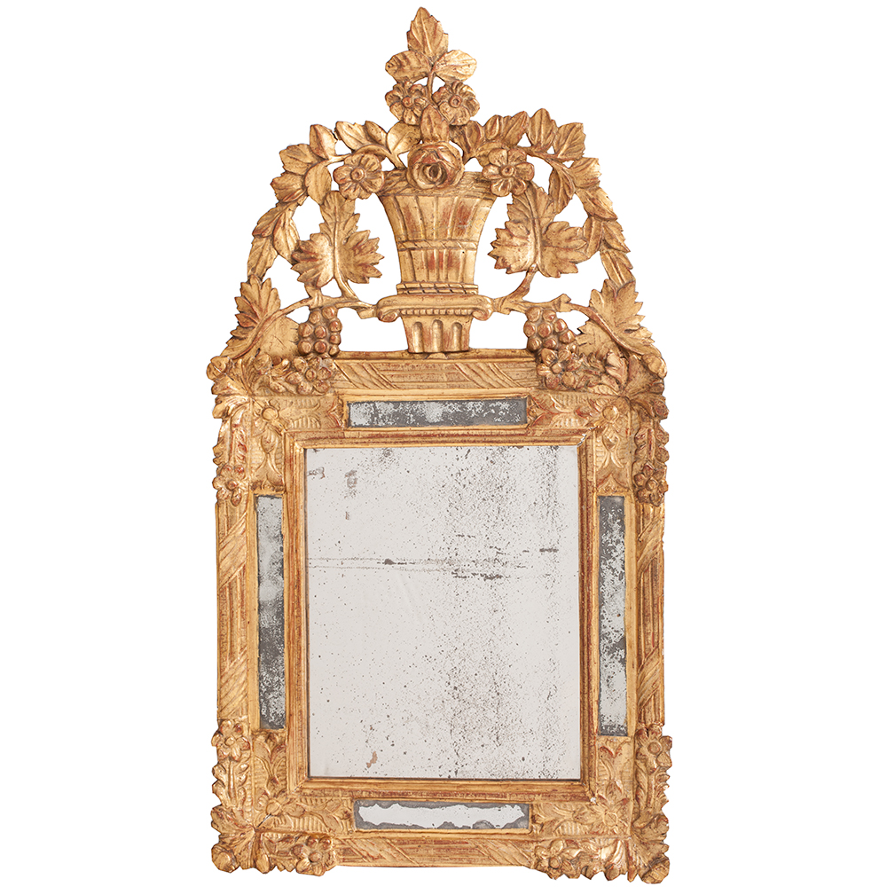 Louis xvi gilt mirror Dawn Hill Swedish Antiques