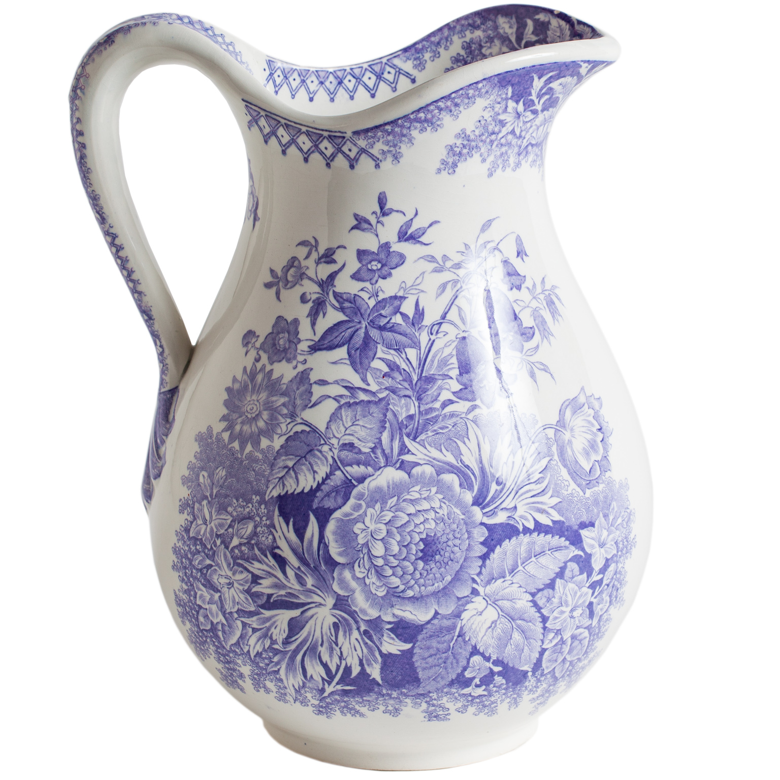 lavender pitcher dawn hill swedish antiques