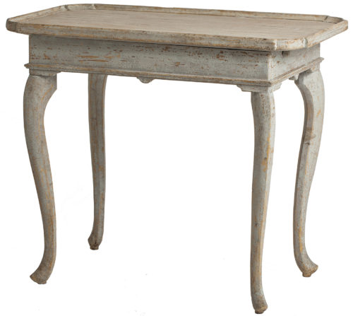 An Antique Swedish Rococo Period Tray Table, circa 1770