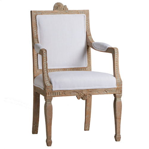A Gustavian Period Armchair from Lindome, circa 1790 antique swedish