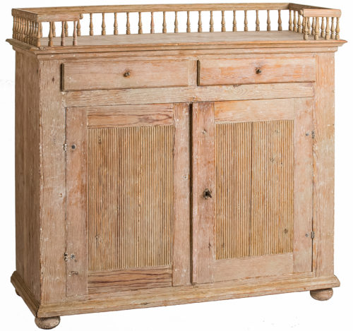 A Swedish Antique Gustavian period Sideboard, circa 1790