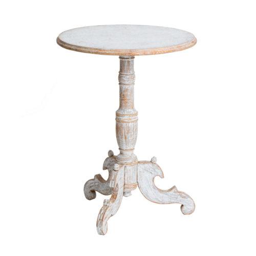 A Swedish Antique Round Pedestal Table, circa 1850