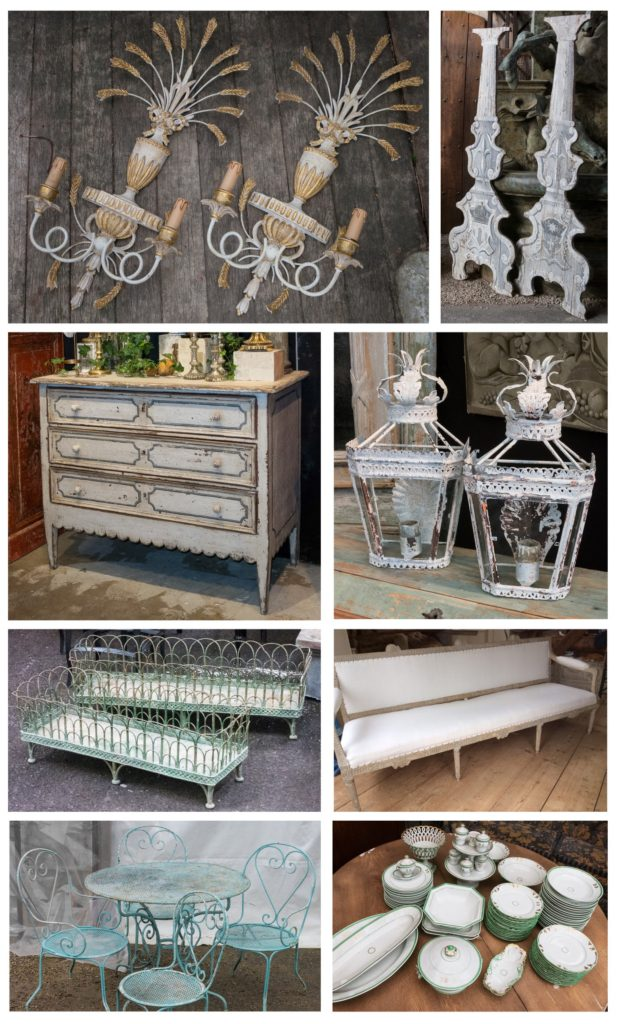 assorted new antiques from france