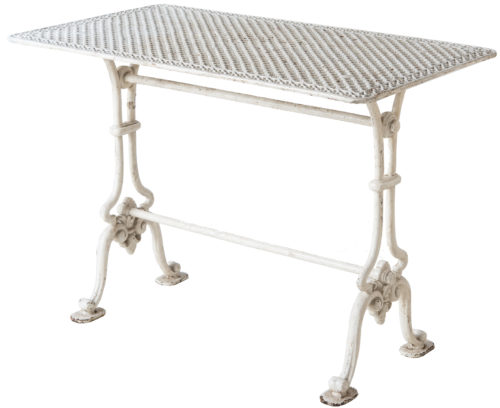A French Pierced Top Cast Iron Garden Table Circa 1870