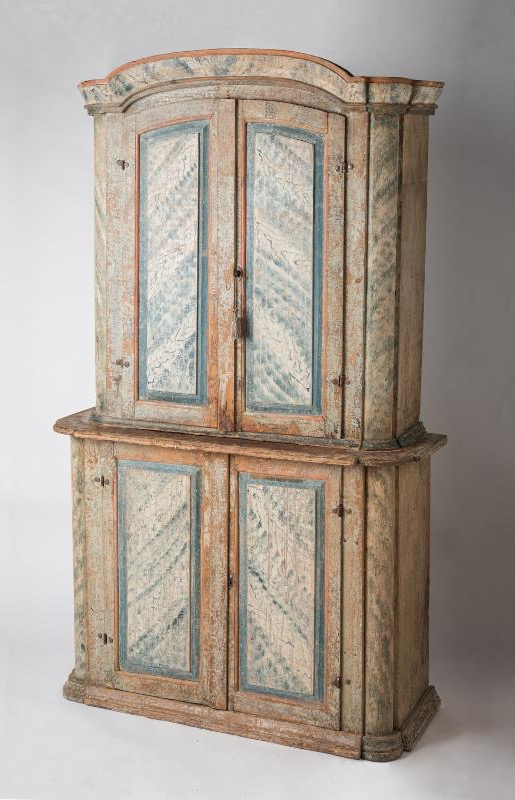 swedish antique cupboard bergslagen