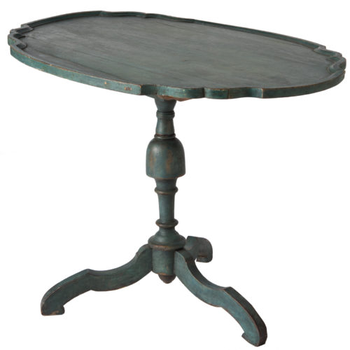Swedish Rococo Period Flip Top Table Circa 1760