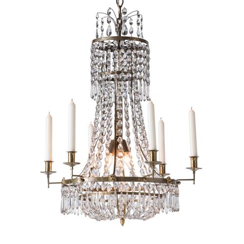 gustavian chandelier