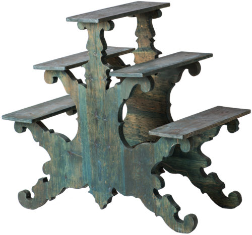 A Swedish Two Sided Flower Stand Circa 1880