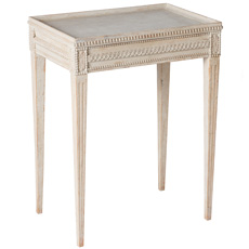A Swedish Gustavian Style Tray Table