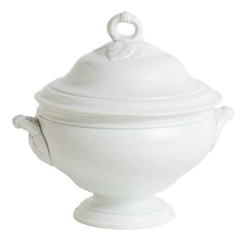 A French Ironstone Soup Tureen With Cover Circa 1850