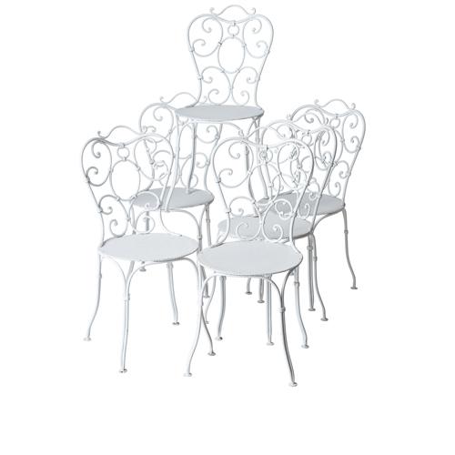 8 garden chairs