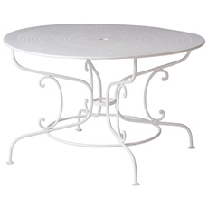 A French Wrought Iron Garden Table Circa 1900