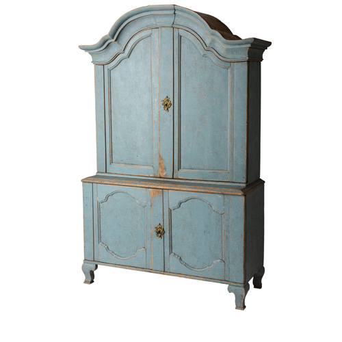 Blue three piece cupboard