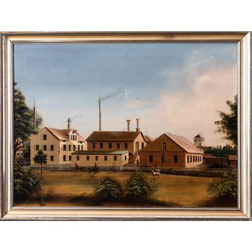 belgian factory painting