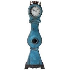 A Diminutive Swedish Mora Clock with Crown Dated 1863