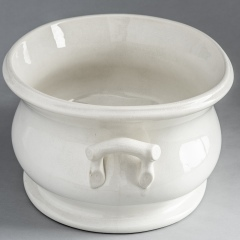 7-7980-Ironstone-Foot-tub-with-Twig-Motif-Handles-3-of-3