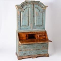 7-8118_Swedish-Blue-Secretary-with-15-drawers-10