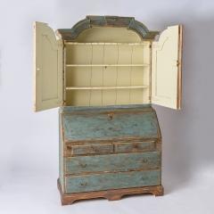 7-8118_Swedish-Blue-Secretary-with-15-drawers-13