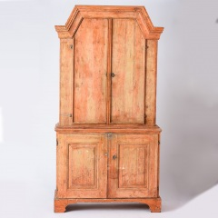 7-8135_Gustavian-Cabinet-with-Original-Coral-Paint-C.-1814-10
