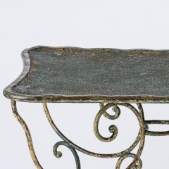7-8145-Pinched-Top-French-Wrought-Iron-Table-11