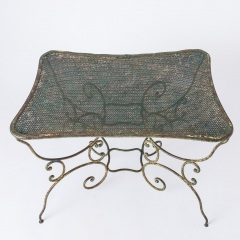 7-8145-Pinched-Top-French-Wrought-Iron-Table-12