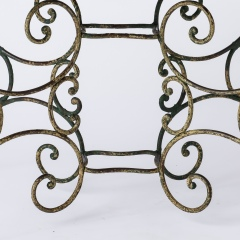 7-8145-Pinched-Top-French-Wrought-Iron-Table-15