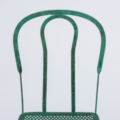 7-8146-Pair-of-Parisian-Wrought-Iron-Chairs-in-Green-Paint-10