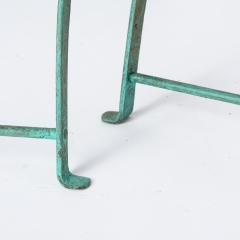 7-8146-Pair-of-Parisian-Wrought-Iron-Chairs-in-Green-Paint-15
