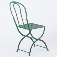 7-8146-Pair-of-Parisian-Wrought-Iron-Chairs-in-Green-Paint-17
