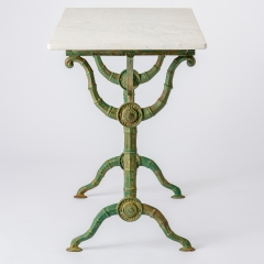 7-8163-Marble-Top-Bistro-Table-faux-bamboo-legs-in-Green-10