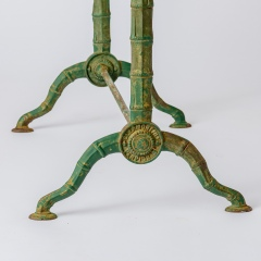 7-8163-Marble-Top-Bistro-Table-faux-bamboo-legs-in-Green-11