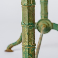 7-8163-Marble-Top-Bistro-Table-faux-bamboo-legs-in-Green-14