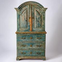 7-8164-Rococo-Cupboard-in-Blue-Green-paint-C1780-10