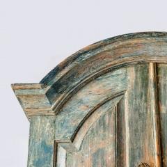 7-8164-Rococo-Cupboard-in-Blue-Green-paint-C1780-11
