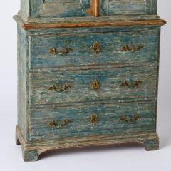7-8164-Rococo-Cupboard-in-Blue-Green-paint-C1780-14