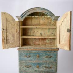 7-8164-Rococo-Cupboard-in-Blue-Green-paint-C1780-18