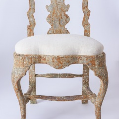 7-8170-A-Pair-of-Swedish-Rococo-Period-Chairs-with-Original-Paint-C.-1760-12