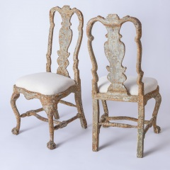7-8170-A-Pair-of-Swedish-Rococo-Period-Chairs-with-Original-Paint-C.-1760-17