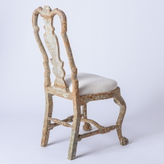 7-8170-A-Pair-of-Swedish-Rococo-Period-Chairs-with-Original-Paint-C.-1760-18