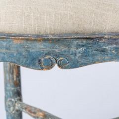 7-8171-Swedish-Rococo-Period-Hornstol-or-Corner-Chair-in-Original-Blue-Paint-C-1770-13