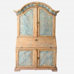 7-8173-A-Rococo-Period-Secretary-from-Varmland-in-Original-Paint-C.-1760-11