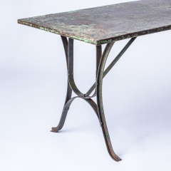 7-8182-An-Early-20th-Century-French-Iron-Industrial-7-8182-Table-with-Remnants-of-Original-Green-Paint-10