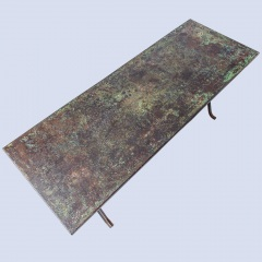 7-8182-An-Early-20th-Century-French-Iron-Industrial-7-8182-Table-with-Remnants-of-Original-Green-Paint-11