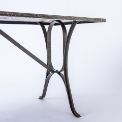 7-8182-An-Early-20th-Century-French-Iron-Industrial-7-8182-Table-with-Remnants-of-Original-Green-Paint-14